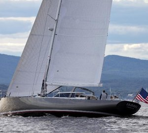 75ft sailing yacht ISOBEL designed by Stephens Waring Yacht Design