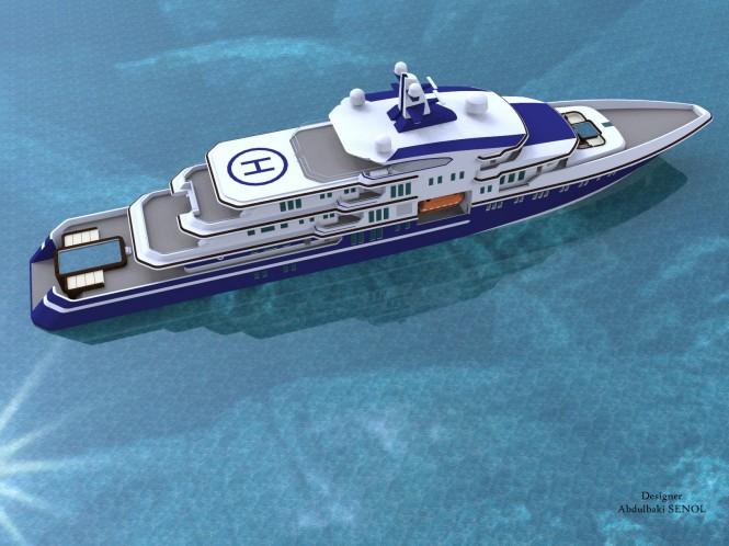 90m Senol luxury yacht