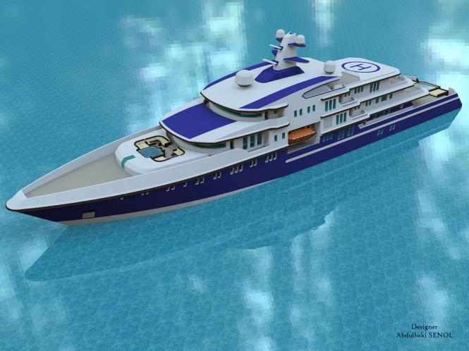 90m Senol motor yacht
