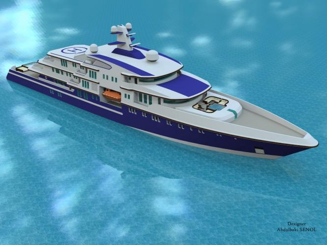90m Senol superyacht