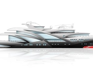 95m motor yacht PENDENDO designed by Docq Concepts