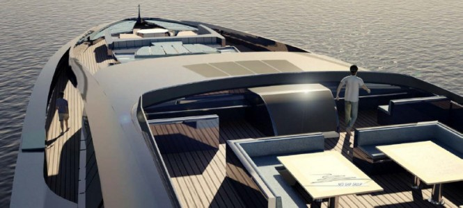 Aboard 105m superyacht Sovereign by Nedship