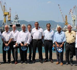 Fincantieri celebrates the 20th anniversary of the Destriero superyacht's challenge