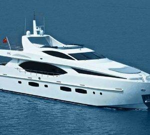 IAG Yachts presented its 100' superyacht ELECTRA at the Hong Kong Gold Coast Boat Show 2012