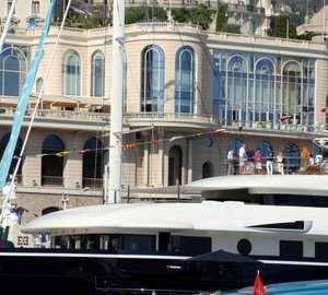 New 'Upper Deck Lounge' at the 2012 Monaco Yacht Show