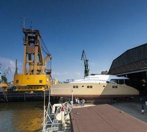 Sunreef Yachts launch Sunreef 82 Double Deck sailing yacht Houbara
