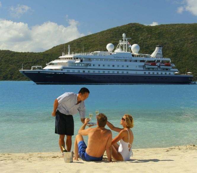 Luxury Events aboard charter yacht SeaDream