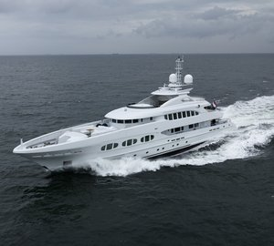 47m motor yacht MY SECRET (ex Project California, hull YN 16347) by Heesen Yachts delivered