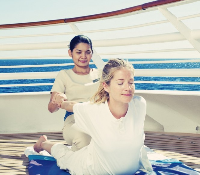 Mega yacht Sea Dream - Outdoor Private Massage