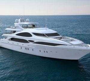 Overmarine luxury yacht Mangusta Oceano 148 for ocean cruising