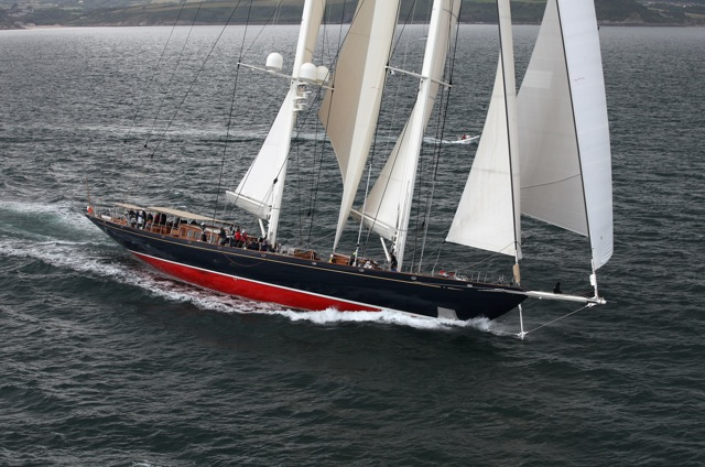 Pendennis Cup 2012 Day 2 Megayacht Athos