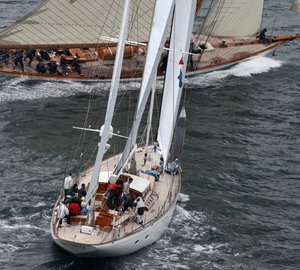 Pendennis Cup 2012: Day 2 - Luxury yachts Unfurled and Firebrand taking top positions in their class