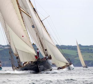 Pendennis Cup 2012: Day 3 - Mariquita and Mikado superyachts leading their Classes