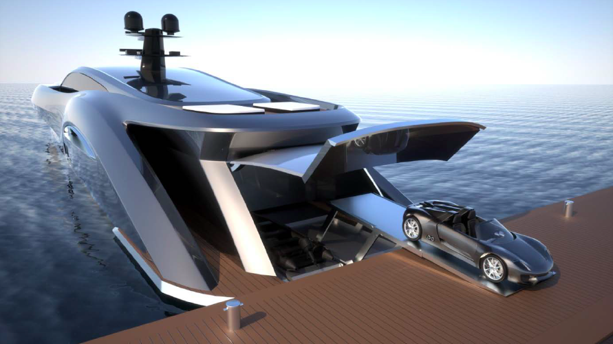 strand craft yachts to be built by ned ship group designed by gray
