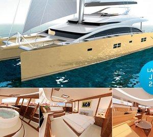 Three new luxury catamaran yachts over 80ft by Sunreef Yachts