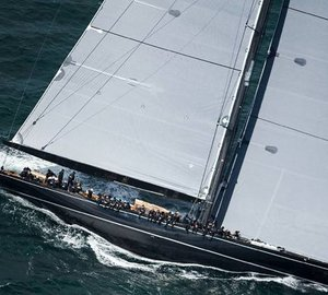Hoek designed luxury yacht LIONHEART wins the historic Kings Hundred Guinea Cup