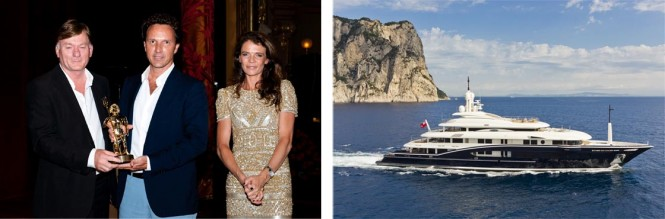 Superyacht NUMTIA with naval architecture by Axis Group Yacht Design - winner of the Naval Architecture Award at ShowBoats Design Awards