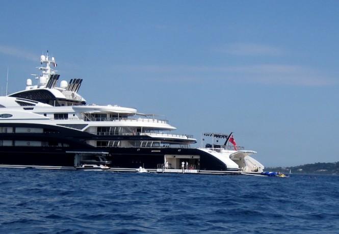 Superyacht SERENE in the Mediterranean