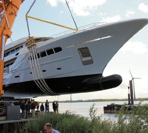 Newly launched 49m Acico luxury yacht NASSIMA designed by Olivier van Meer