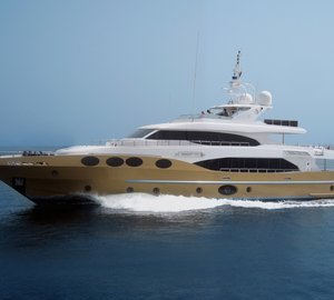 The second Majesty 125 motor yacht hull 002 by Gulf Craft completed