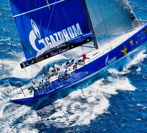 Esimit Europa 2 superyacht to compete in the 2012 Maxi Yacht Rolex Cup