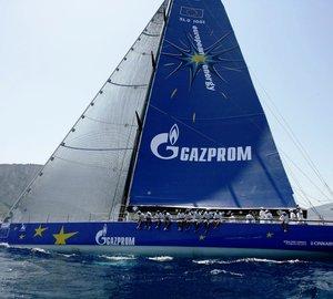 Luxury yacht Esimit Europa 2 winner of the 2012 Palermo - Monte Carlo regatta
