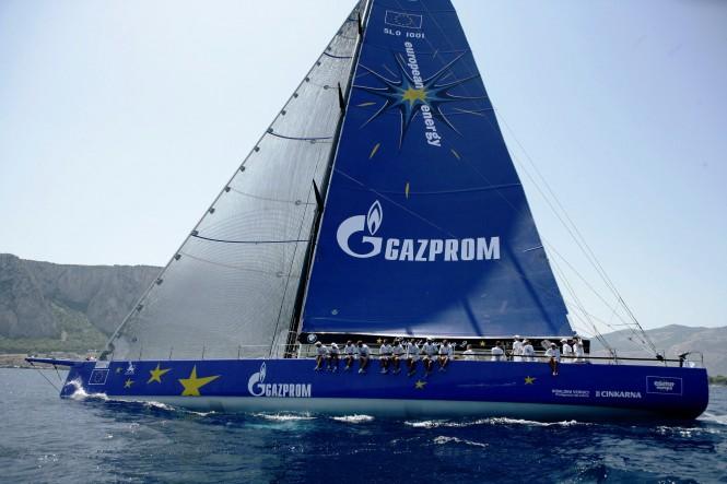 100ft superyacht Esimit Europa 2 - a Winner of the 2012 Palermo - Monte Carlo Regatta