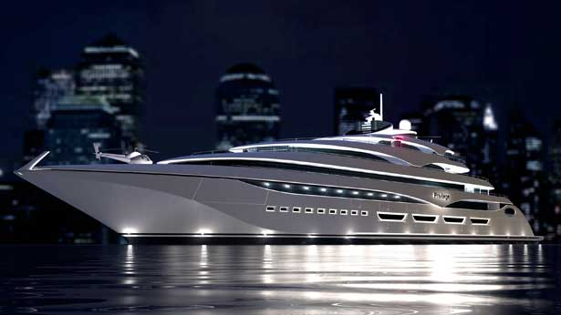 127m megayacht Privilege One by Privilege Yard and Laraki Yacht Design