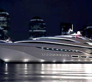 128m motor yacht PRIVILEGE ONE under construction at Privilege yard