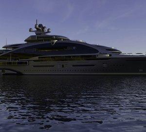 Laraki Yacht Design's New 163m motor yacht PRELUDE