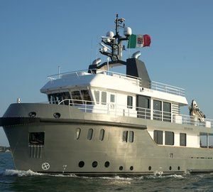 Ocean King 88 motor yacht IRIE MAN by Cantieri Navali Chioggia (CNC) delivered