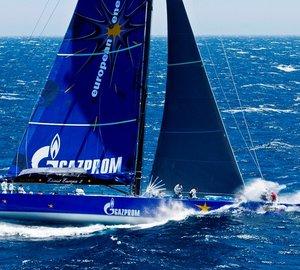 Esimit Europa 2 superyacht breaks the Monaco-Porto Cervo Wally Record