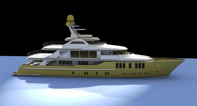47m luxury motor yacht Orient Star (Project Mina) by CMB Yachts