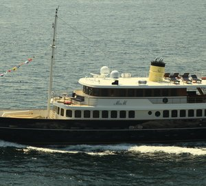 Additional images of the newly delivered Bilgin Classic 160' superyacht M&M