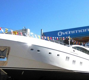 7th Mangusta 165 superyacht by Overmarine to premiere at 2012 Fort Lauderdale Boat Show