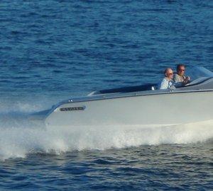 All composite 2013 Kavalk SportRunner 25 yacht tender by Kazulin Boats
