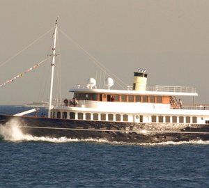 Bilgin 160 Classic superyacht on display at the upcoming Boat Shows in Cannes and Monaco
