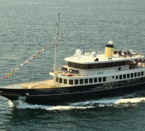 Bilgin Classic 160' motor yacht M&M delivered