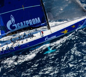 100ft luxury yacht Esimit Europa 2 to compete in the 8th Palermo - Monte Carlo yacht regatta