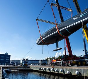 Nautor's Swan Launch the Swan 90S sailing yacht FREYA – the 2,000th Swan sailing yacht