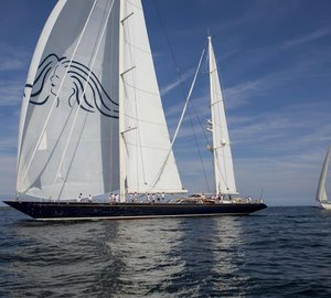 Hodgdon charter yacht SCHEHERAZADE winner of the Shipyard Cup X