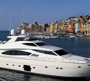 The second motor yacht Ferretti 881 RPH delivered by Lee Marine