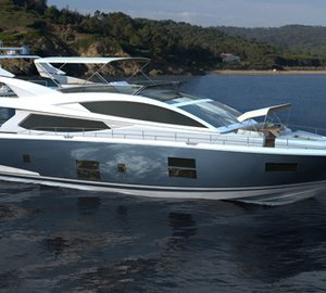 Kelly Hoppen styled motor yacht Pearl 75 to premiere at Southampton Boat Show