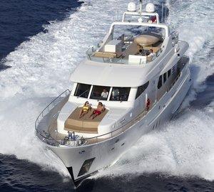 New Moonen 82 Alu luxury yacht My Way delivered