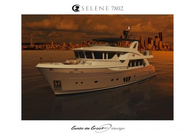Ocean Explorer Yacht Selene 78 by Guido de Groot