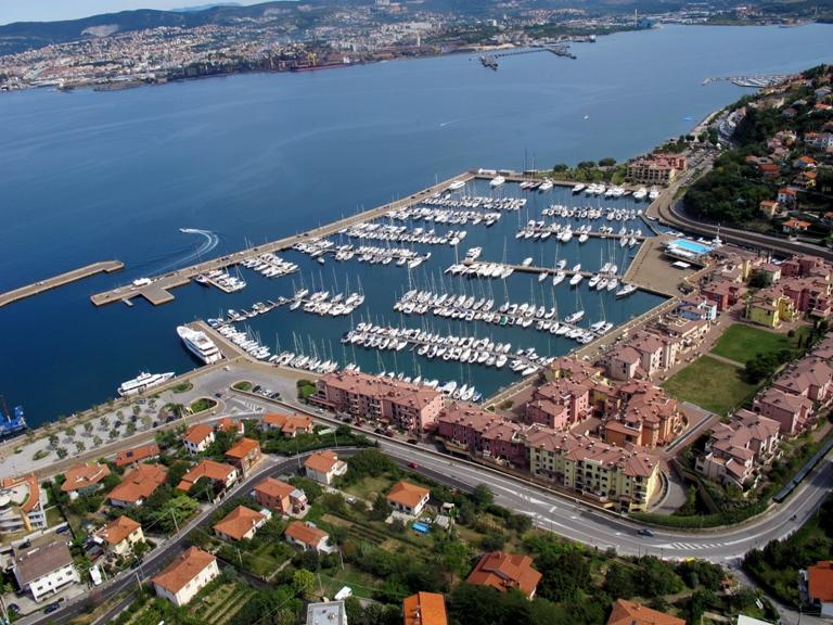 Porto San Rocco Marina in Italy