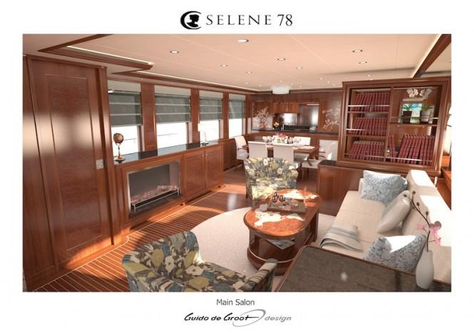 Selene 78 Ocean Explorer yacht - Main Salon