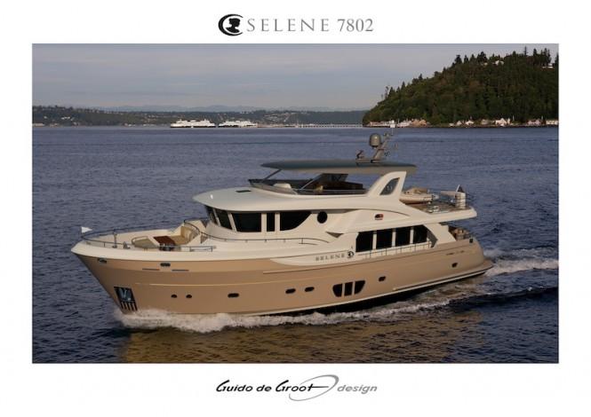 Selene 78 yacht by Guido de Groot