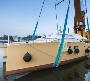 Newly launched Sunreef 82 DD superyacht HOUBARA to premiere at Cannes Boat Show