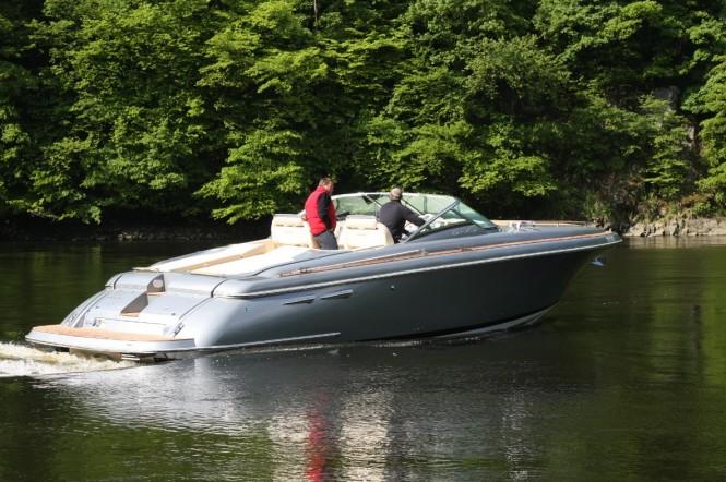 The latest 36 Corsair yacht